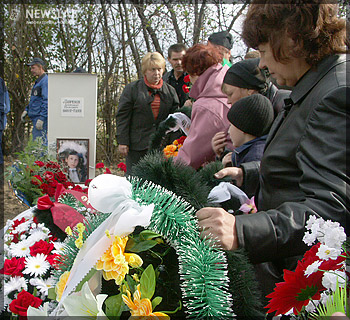 фото могилы детей