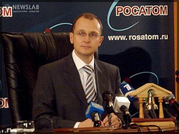 Руководитель Федерального агентства по атомной энергетике Сергей Кириенко