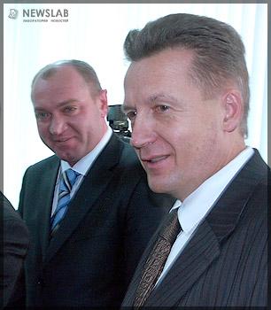 Сергей Натаров и Николай Глушков