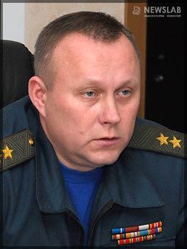Начальник регионального центра МЧС Александр Глазунов