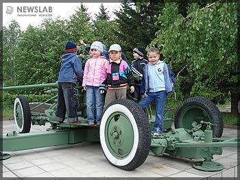 Праздник для детей сотрудников Красноярского машиностроительного завода