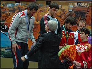 Фото: Награждение победителей турнира