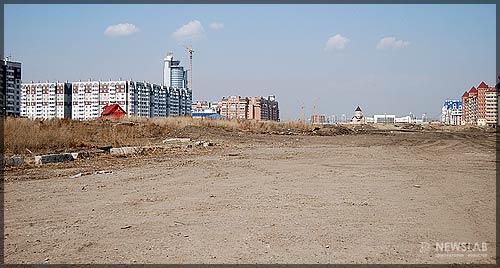 Фото: Площадка будущего парка в честь 400-летия Красноярска