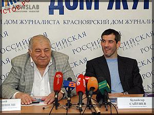 Фото: Дмитрий Миндиашвили, Бувайсар Сайтиев