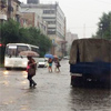ВКрасноярске устраняют последствия затопившего улицы ливня (видео)