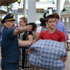 Навокзале Красноярска врачи исотрудники МЧС встретили группу из55украинских беженцев