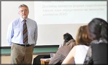 Николай Вахтин слева