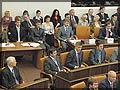 На сессии Законодательного собрания