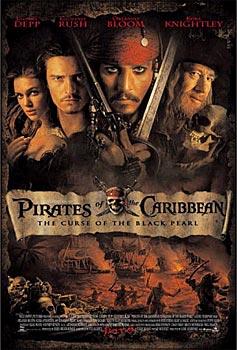 Пираты Карибского моря, постер