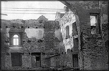 Здание театра после пожара 1931 г.