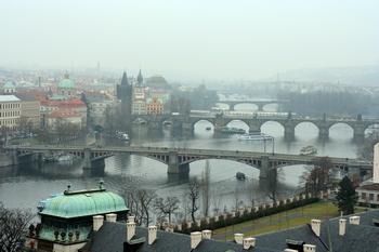 Вид на реку Влтава