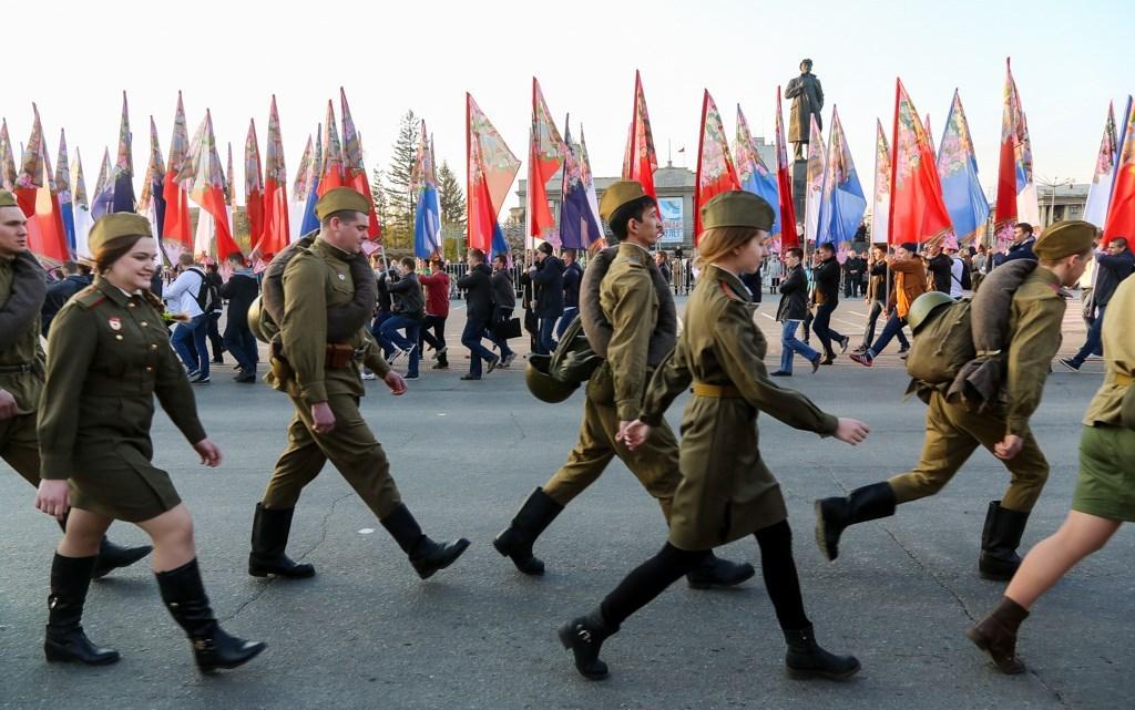 Дня Победы в Красноярске