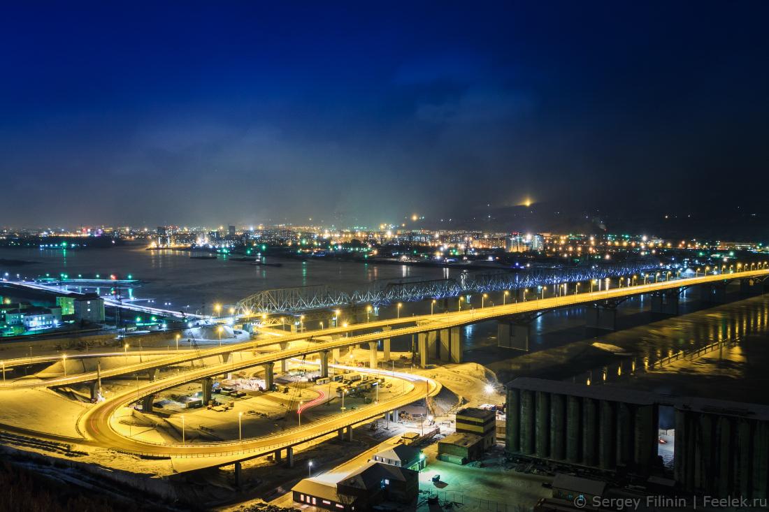собираюсь новый мост в красноярске фото было намека какую-то