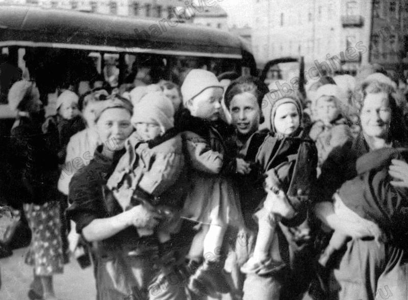 Эвакуированные дети картинка
